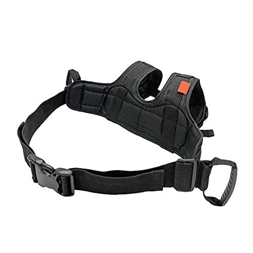 Uayasily Cintura di Sicurezza del Motociclo Cintura di Sicurezza del Passeggero del Motociclo Cintura di Sicurezza Durevole Cinturino Ausiliario del Sedile Posteriore Handness per Bambini