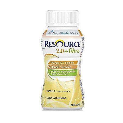 Nestle dricknäring Resource 2.0 fiber 24 x 200 ml, vanilj