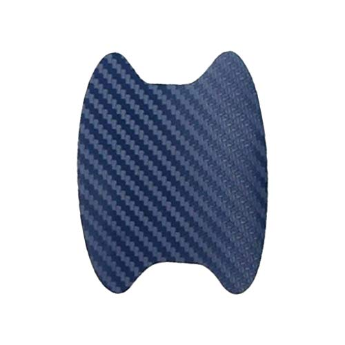 QHJ - Juego de 8 pegatinas para puerta de coche, resistente a los arañazos y a los arañazos, azul, as show