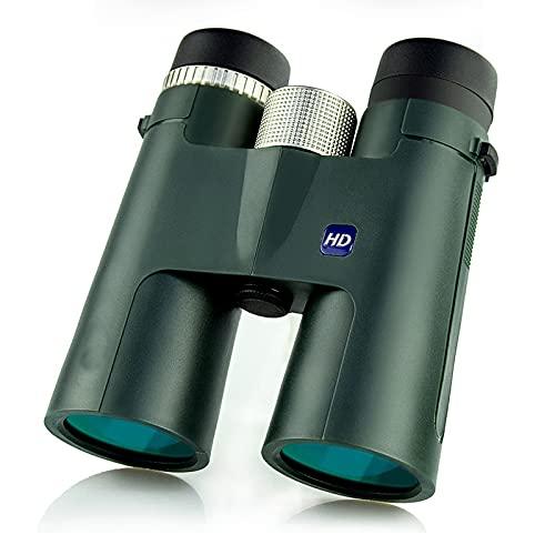 LifBetter Prismáticos portátiles de alta definición de 12 x 42, prismáticos profesionales con adaptador telefónico universal para trípode/funda/cordón/paño para lentes/clip para teléfono móvil