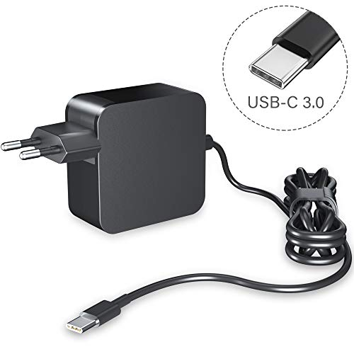 NEUE DAWN 65W USB C Netzteil Type C AC Adapter PD Netzteil, Notebook Ladegerät für Lenovo, ASUS, Acer, Dell, Xiaomi Air, Huawei Matebook, MacBook Pro, HP, Thinkpad Laptops Typ C Charger