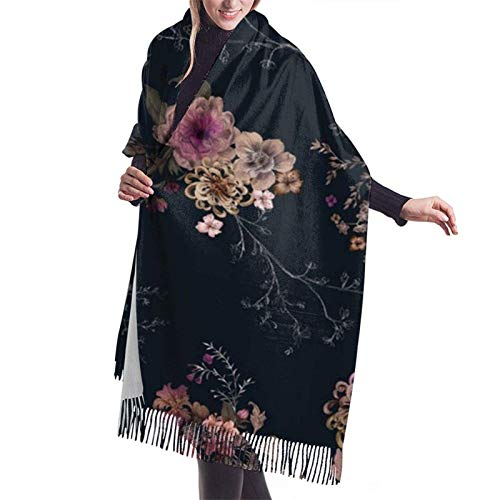 Chal cálido para mujer, abrigo, abrigo, chales, abrigo, abrigo, ponchos para mujer