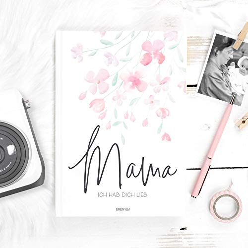 Buch für Mama, Danke Mama, als Muttertagsgeschenk oder Geburtstagsgeschenke für Mütter, Über uns, ein Mutter Tochter Buch zum ausfüllen