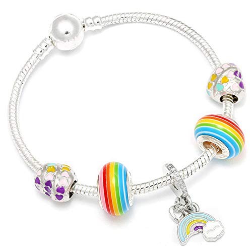 Pulsera Brazalete, Joyeria Regalo, Charm Bracelet Silver Plated Hollow Murano Beads Fit New Original Brand Bracelets For Women Jewelry AE211 21cm