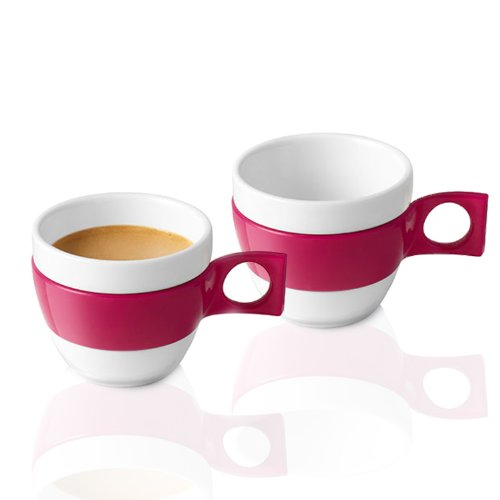 Nescafé Dolce Gusto Espresso Tasse, Porzellan, 2er Pack, 60 ml