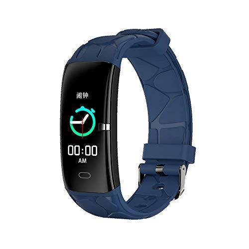 Yumanluo Pulsera Inteligente de Actividad,Reloj Inteligente de Control de Salud, Pulsera-Azul para Hacer Ejercicio,Podómetro Monitores de Actividad Impermeable