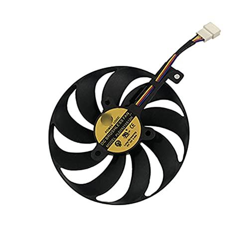 PLD09210S12H 7PIN RTX2080 RTX2080TI Tarjeta GPU FANSE para ASUS ROG Strix RTX 2080 2080 TI Tarjetas DE Juegos DE ENFRIAMIENTO (Blade Color : 4Pin PLD09210S12H)