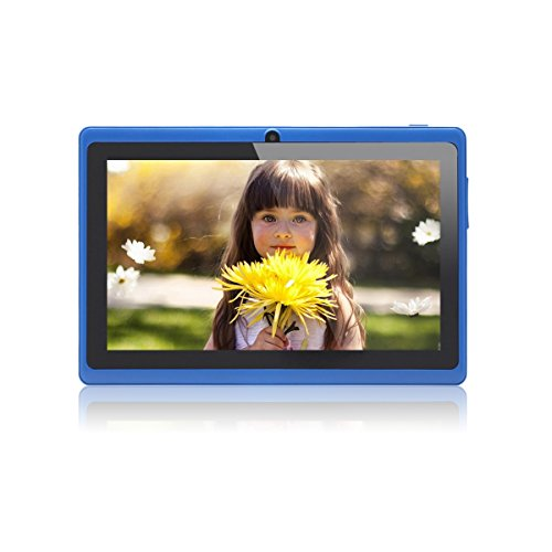 JEJA Tablet Android Google de 7 pulgadas PC 4.2.2 8GB 512MB DDR3 A23 Dual Core 1.5GHz Cámara capacitiva de la pantalla Wifi - Azul