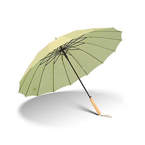 Parapluie Coupe-Vent Parapluie compact grand grand coupe-vent 210T imperméable durable parapluie de bâton automatique avec ouverture automatique de 16 nervures pour les hommes et les femmes de pluie l