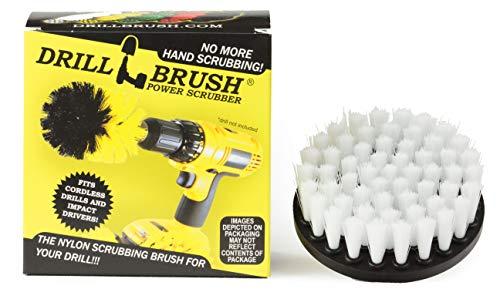 Drill Brush Power Scrubber Blanco 10 cm de fijación para cuerda depurador...