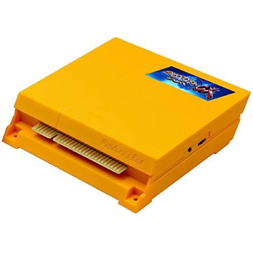 ARCADORA Original 3A Pandora Box CX 2800 in 1 Arcade Jamma Board, DIY Retro Game Cabinet, CRT CGA VGA HDMI Output, Support 4 Players, Accurate Search games, Custom button