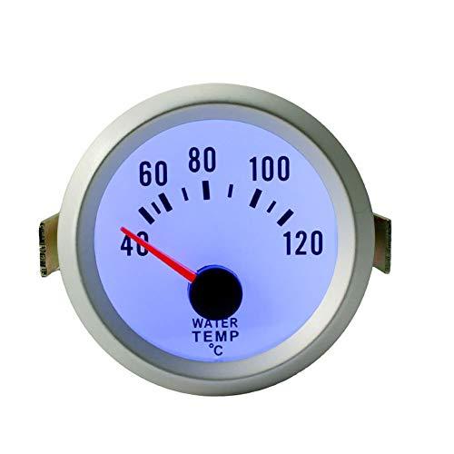 XIXI-Home 52 mm de Agua Medidor de Temperatura miden la Temperatura del medidor en Forma for el Carro del Coche de la Motocicleta del Barco