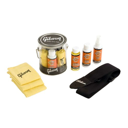 Gibson Transparente Cesto Kit De Cuidado (G-CAREKIT1)
