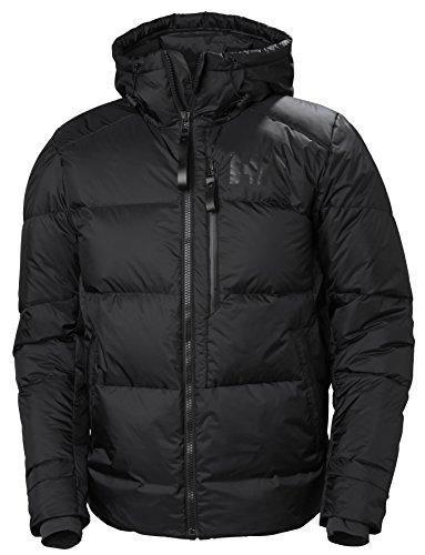 Helly Hansen Men's Active Winter Insulated Parka Jacket, Black, Medium