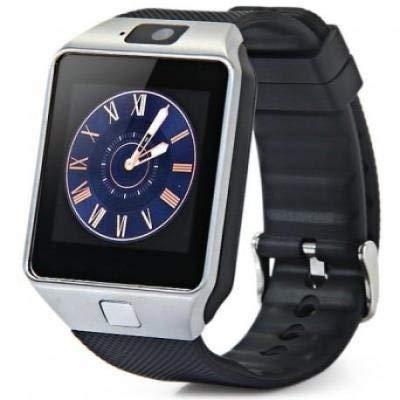LKS Smartwatch LksTech Dz09 Multi-función BT,Cámara Frontal,Slot para Tarjeta Sim Y Microsd Silver v1
