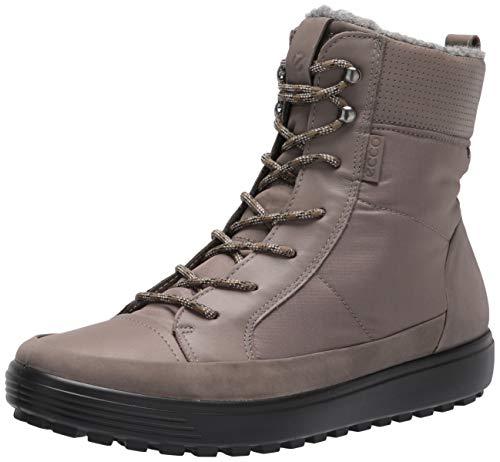 ECCO womens Soft 7 Tred Winter Gore-tex Oxford Boot, Dark Clay/Warm Grey/Warm Grey Textile, 7-7.5 US