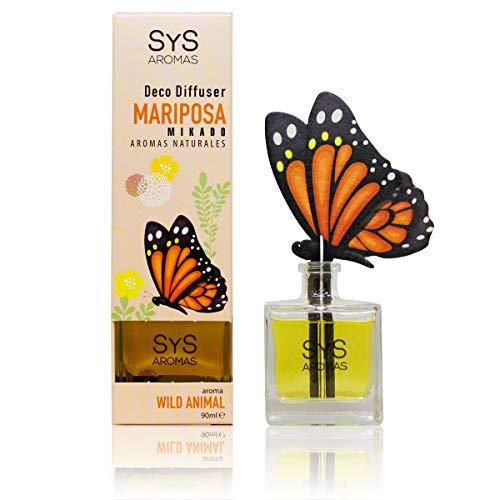 Laboratorio sys Ambientador sys difusor mariposa 90ml. Wild animal 1 Unidad 90 ml