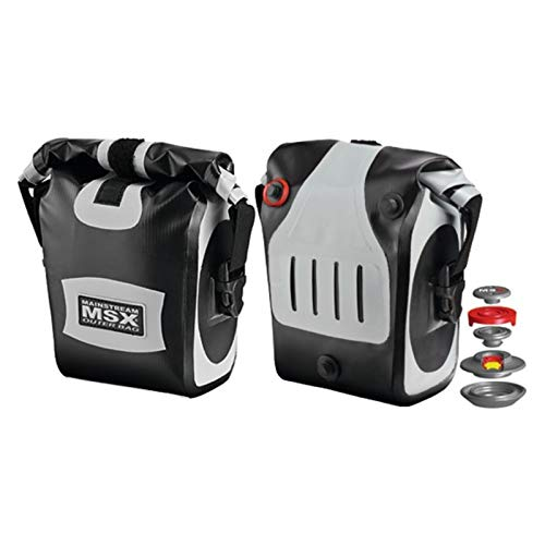 Mainstream-MSX Mainstream Fahrradtasche MSX XR Outer Bag, schwarz, MS-1616