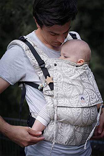 LIMAS Flex Babytrage Fullbuckle | 56-104 cm | Bauchtrage & Rückentrage & Onbuhimo | ab 2.-3. Monate bis 3+ Jahre | Baby Carrier | Valerie