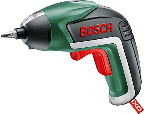 Bosch 06039A8070 IXO Cordless Screwdriver with Integrated 3.6 V Lithium-Ion Battery, Green, 16.0 cm*6.4 cm*23.6 cm