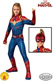 Rubies Captain Marvel Disfraz, Multicolor, Large Age 8-10 Years (700594)