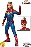 Rubies Captain Marvel Disfraz, Multicolor, Medium (700594)