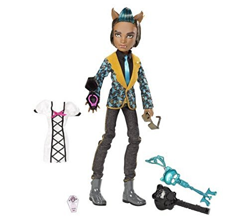 Mattel W9192 - Monster High Clawd Wolf, Sohn des Werwolfs, Puppe