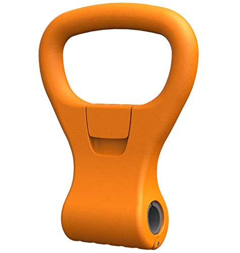 Kettle Gryp - Kettlebell Adjustable Portable Weight Grip Travel Workout Equipment Gear for Gym Bag, Crossfit WOD, Weightlifting, Bodybuilding, Lose Weight   Clamps to Dumbbells   Made in U.S.A.