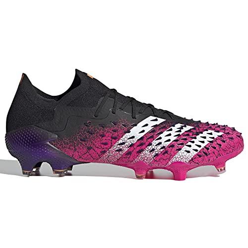 adidas Predator Freak .1 Low FG - Black-Pink-Purple 9.5