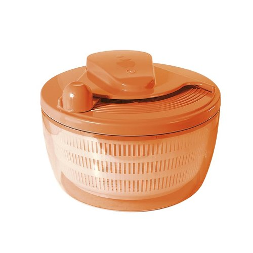 Automatische Salatschleuder 5 Liter (ORANGE)