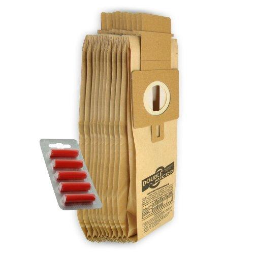 First4spares - Staubsaugerbeutel Typ H20 für Hoover Purepower Staubsauger (10er Pack, 20er Pack und Optional Lufterfrischerstäbe) - 10 x Staubsaugerbeutel + 5 x Erfrischer