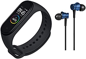 Mi Smart Band 4- India's No.1 Fitness Band, Up-to 20 Days Battery Life, Color AMOLED Full-Touch Screen, Waterproof with...