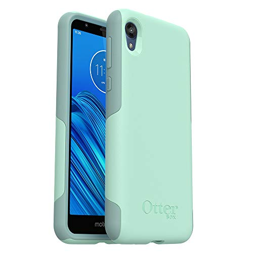 OtterBox Commuter LITE Series Case for Moto e6 - Retail Packaging - Ocean Way (Aqua SAIL/Aquifer) (77-62664)