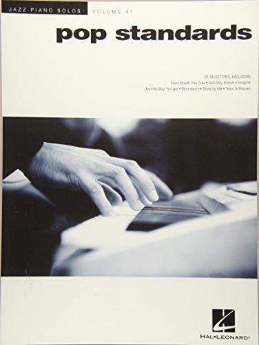 Jazz Piano Solos Volume 41: Pop Standards: Noten, Sammelband für Klavier: Jazz Piano Solos Series Volume 41