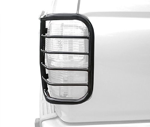 Tyger Custom Fit 96-02 Toyota 4Runner 2pcs Black Taillight Covers Tail Light Guards (Mounting Hardware & Instruction Included)