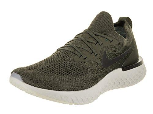 Nike Men's Epic React Flyknit Cargo Khaki/Black Sequoia Running Shoe 8 Men US
