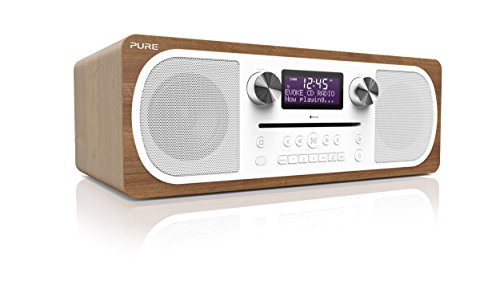 Pure Evoke C-D6 Stereo dispositivo musicale tutto in uno (CD, DAB+ Digitale, Radio FM, Bluetooth telecomando incluso)