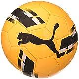 Puma Shock Ball Ballon De Foot Mixte Adulte, Ultra Yellow Black-Orange Alert, 5