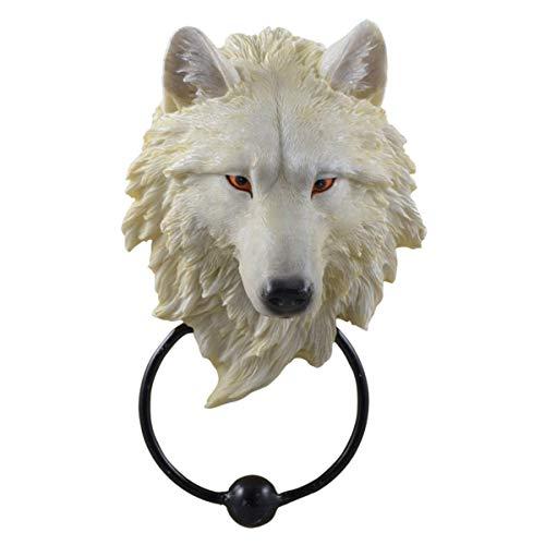 Quanzhou Quankang Craft Türklopfer Weißer Wolfskopf