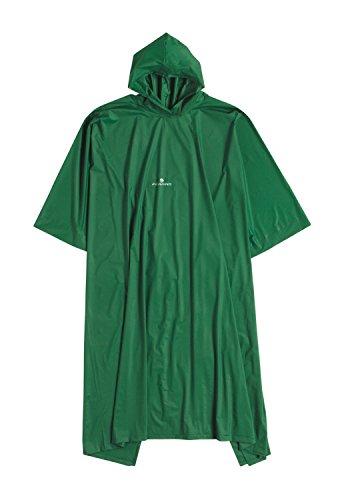 Ferrino 65161Avv Poncho, Unisex Adulto, Verde, Talla Única