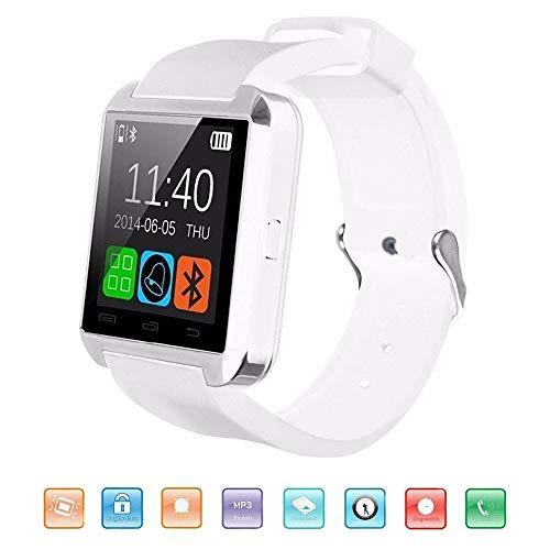 MDMMBB Smartwatch Bluetooth, KeepGoo U8 Smartwatch for Smartphone Android iOS Smartwatch Supporto Pedometro Salute Monitoraggio Sonno Avviso Chiamata/SMS/SnS Orologio da Polso Touchscreen da 1,44