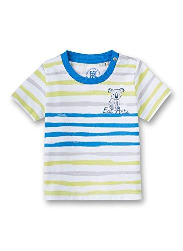 Sanetta - T-Shirt - Manches Courtes - Bébé (garçon) 0 à 24 Mois - Blanc - 6 Mois