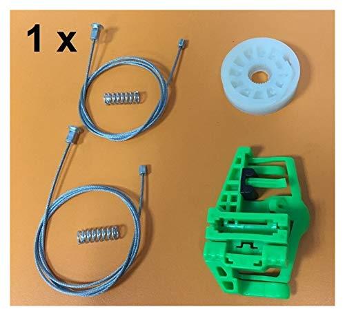 FSLLOVE FANGSHUILIN Kit de Ventanas Ajuste para BMW 1 Serie E87 Regulador de Ventana Kit de reparación Trasera Derecha 2003-2013