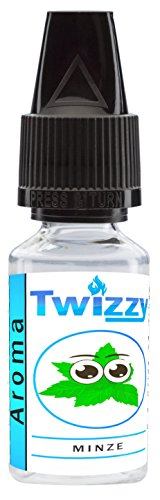 10ml Twizzy® Minze Aroma | Aroma für Shakes, Backen, Cocktails, Eis | Aroma für Dampf Liquid und E-Shishas | Flav Drops | Ohne Nikotin 0,0mg