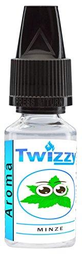 10ml Twizzy® Minze Aroma   Aroma für Shakes, Backen, Cocktails, Eis   Aroma für Dampf Liquid und E-Shishas   Flav Drops   Ohne Nikotin 0,0mg