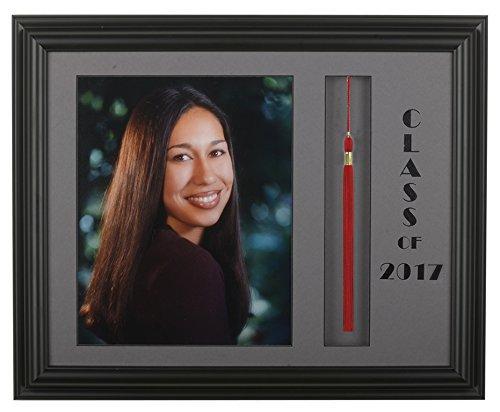 Graduation Tassel Picture Frame Black/Grey 2016