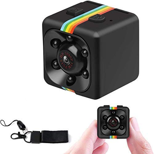 Makerfire Cámara HD Videocámara 3.6mm Visión Nocturna FOV120 1080P Deportes Mini DV Video Recorder