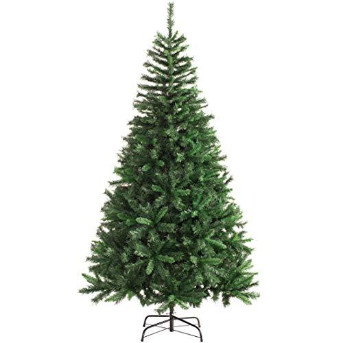 WeRChristmas - Árbol de Navidad con 521 puntas (madera de pino), Verde, 6 ft/1.8m