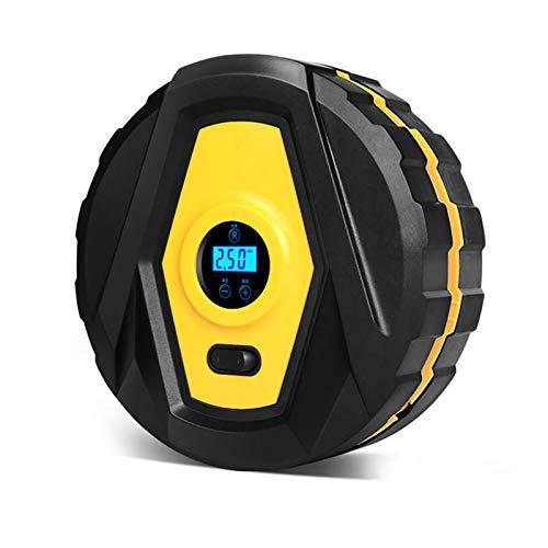 BETTER ANGEL LE Bomba Eléctrica Inflador Infladora De Neumático Aire Patinete - Bomba Infladora Electrica para Inflar Colchones Bici, Mini Bomba Compresor Inflador De Aire Batería Digital Inteligente