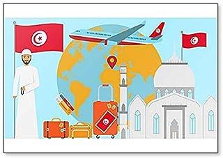 Froy Auto Rennen Grand Prix Tunisie 1933 Mur T/ôle Signe R/étro Fer Affiche Peinture Plaque T/ôle Vintage Art Personnalis/é Cr/éativit/é D/écoration Artisanat pour Caf/é Bar Garage Maison